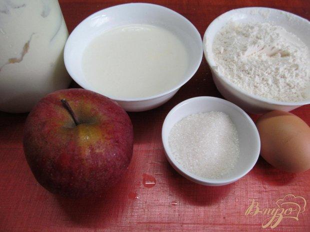 Рецепт Яблочные кольца в тесте