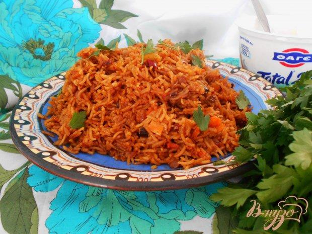 Острый рис по-индийски