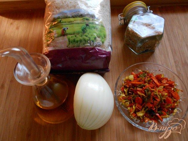 Рецепт Острый рис по-индийски