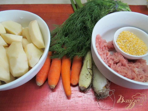 Тефтели на овощном рагу