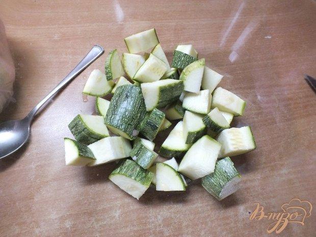Свинина тушеная с молодым картофелем и овощами