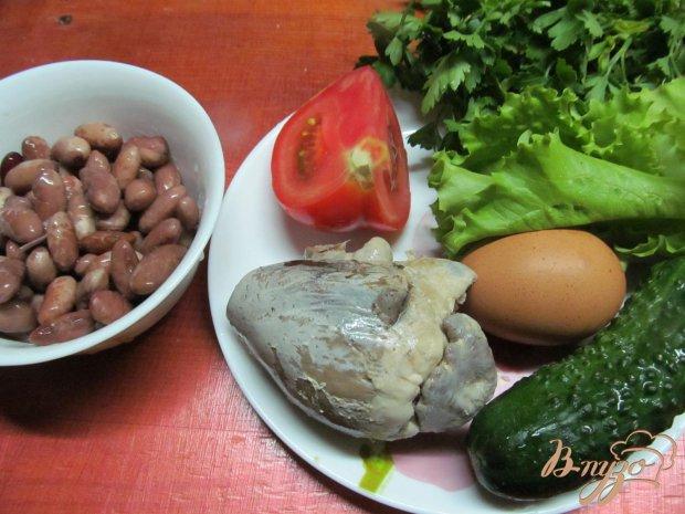 Рецепт Салат из сердца помидора с французским соусом