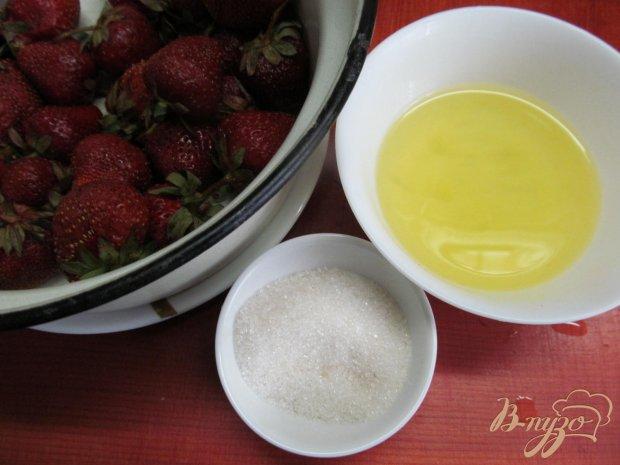 Рецепт Салат из клубники с меренгой