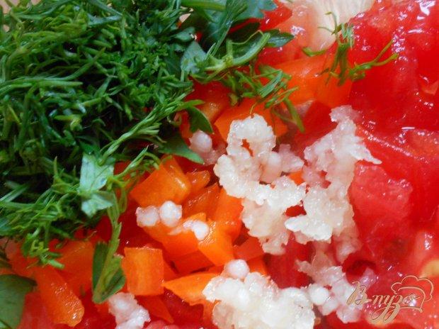 Мидии в помидорно-чесночной панировке