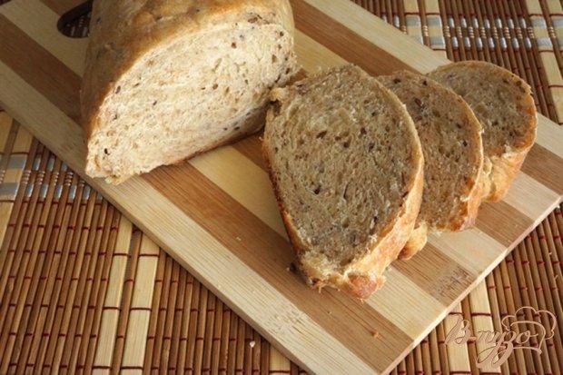 """Хлеб """"Цельнозерновой"""" с горчицей и семенами льна"""