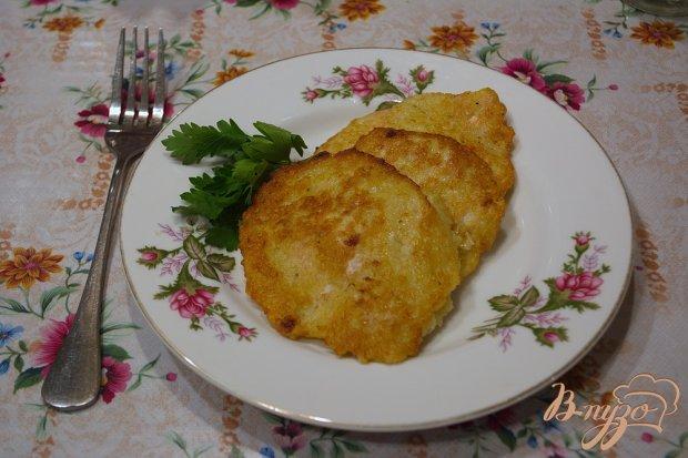 Картофельные котлеты с индейкой