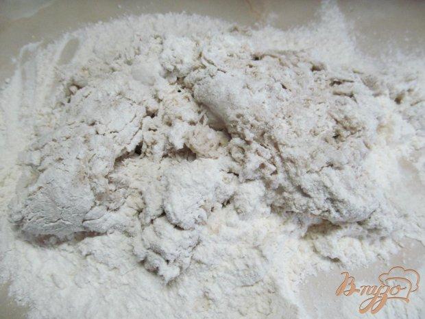 Хлеб с добавлением льняной клетчатки и муки