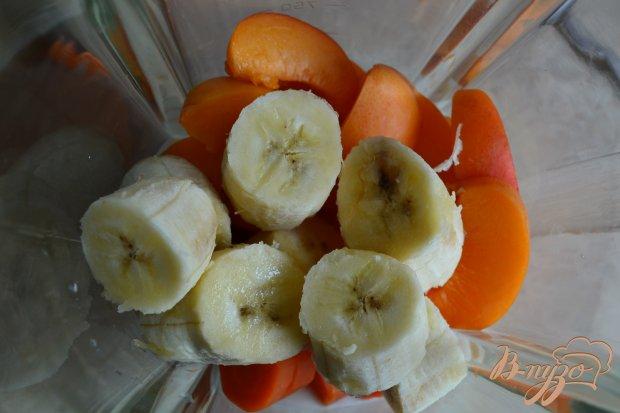 Смузи морковный с абрикосами и имбирем