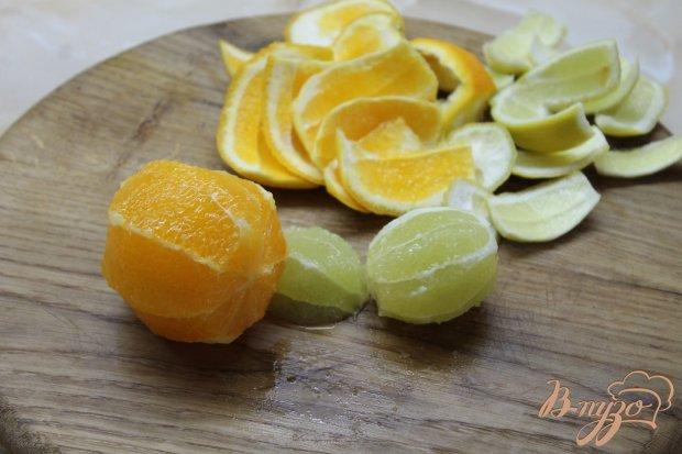Лимонад с мятой и апельсином