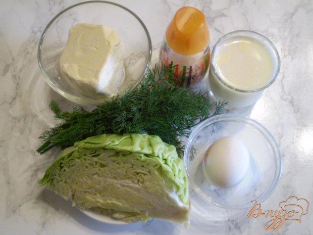 Рецепт Омлет с тушеной молодой капустой