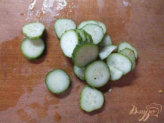 Яичный салат с овощами