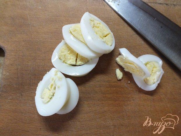 Рецепт Яичный салат с овощами