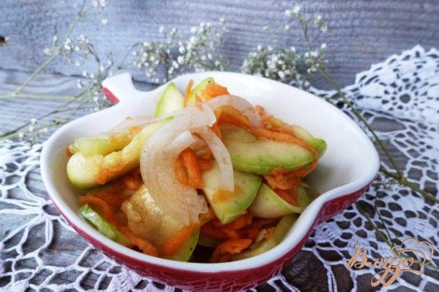 Закуска из кабачков и огурцов