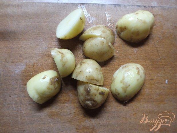 Рагу из молодого картофеля в духовке