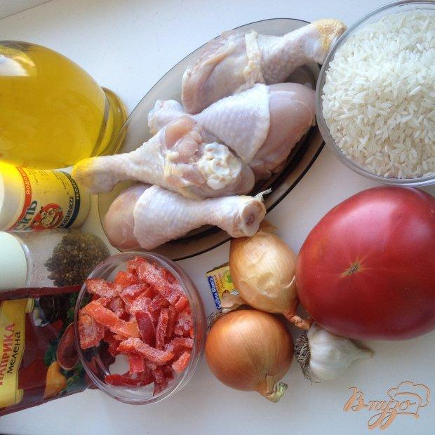 Рецепт Паэлья с куриными голенями