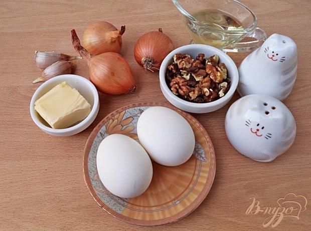 Рецепт Паштет яично-ореховый
