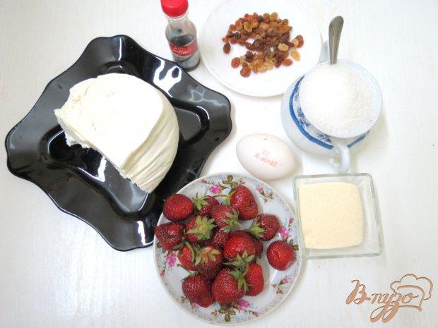 Рецепт Сырники с клубничным соусом.