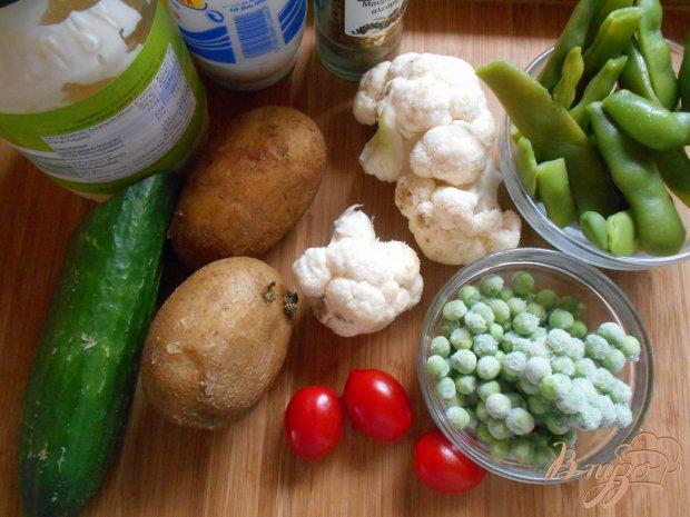Рецепт Болгарский картофельный салат