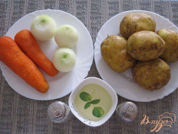 Рецепт Картофель с морковью и луком