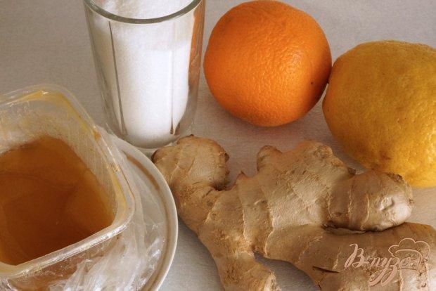 Рецепт Цитрусово-имбирный сироп