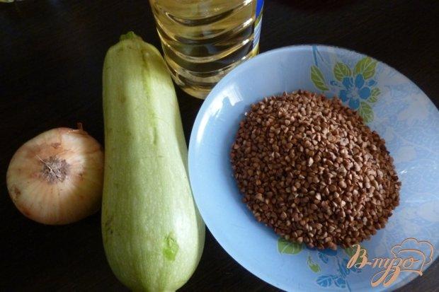 Рецепт Гречневая каша с кабачками