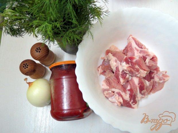 Рецепт Капуста тушёная острая с томатом