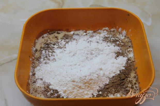 Рецепт Шоколадные блинчики с клубникой и шоколадом