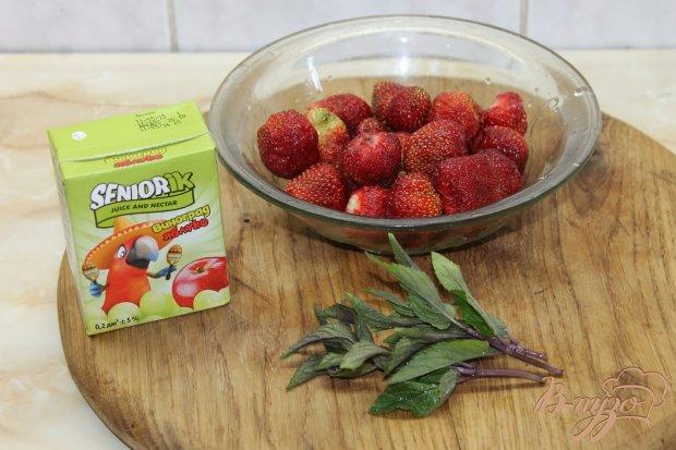 Рецепт Смузи с клубники и мяты