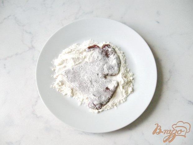 Рецепт Говяжья печень запеченная в фольге