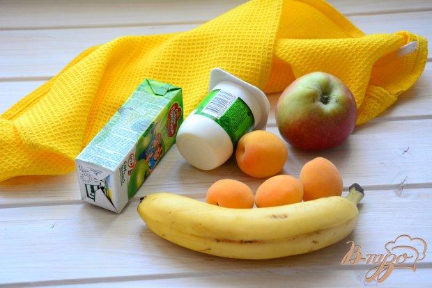 Рецепт Смузи яблочно-абрикосовый