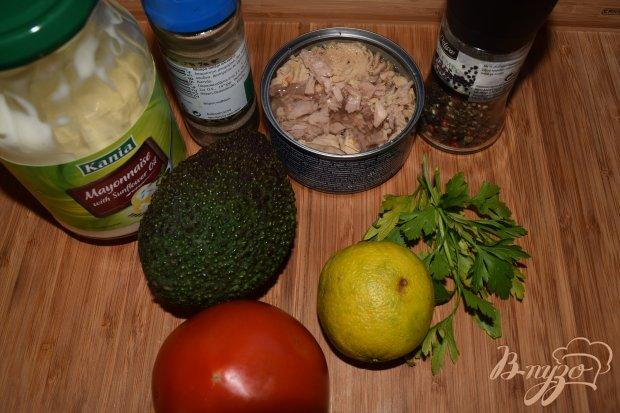 Рецепт Веррины с тунцом и муссом из авокадо