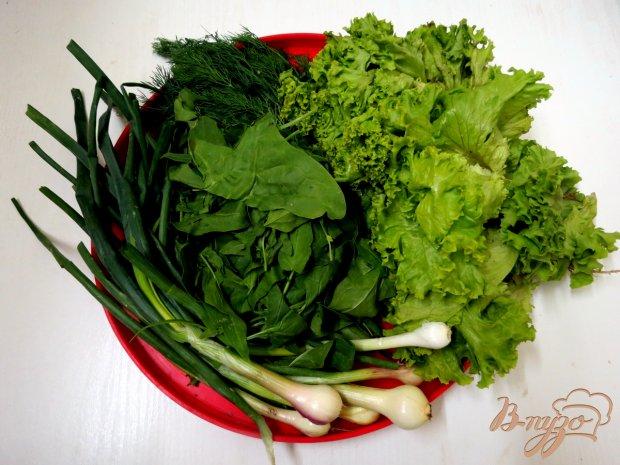 Рецепт Зелёный витаминный салат