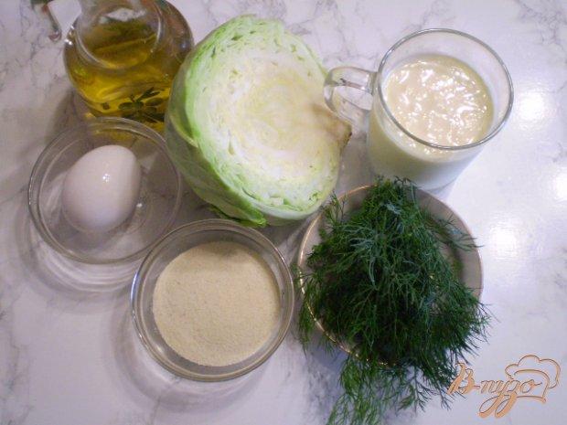 Рецепт Оладушки без муки из капусты