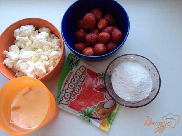 Рецепт Клубнично-творожный крем