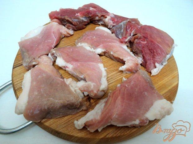 Рецепт Свинина пряная в томатном соусе