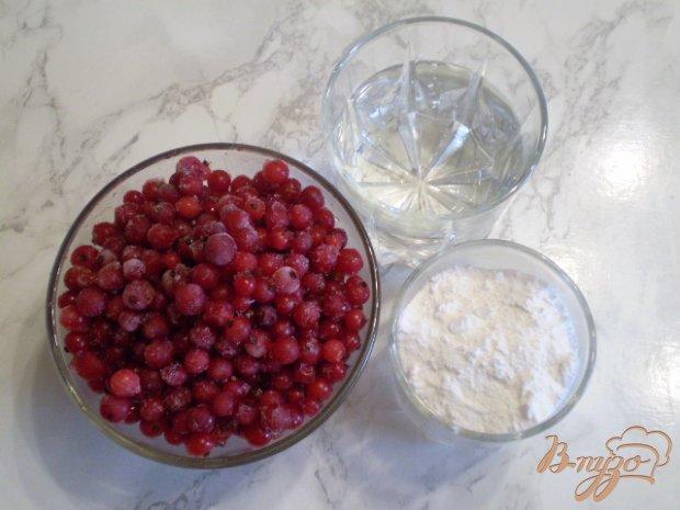 Рецепт Сорбет из красной смородины