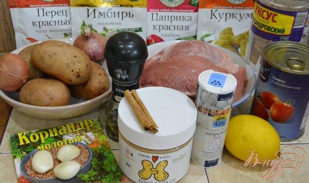 Рецепт Виндалу из свинины