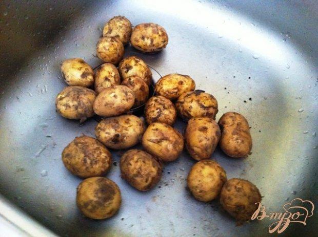 Рецепт Молодой картофель по-деревенски