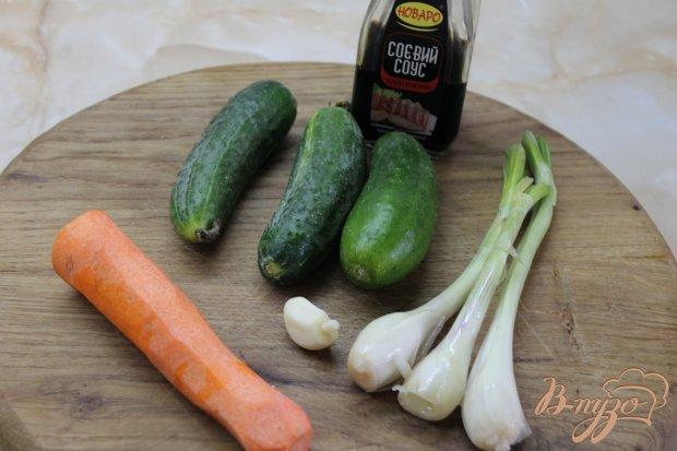 Рецепт Огурцы по - корейски острые