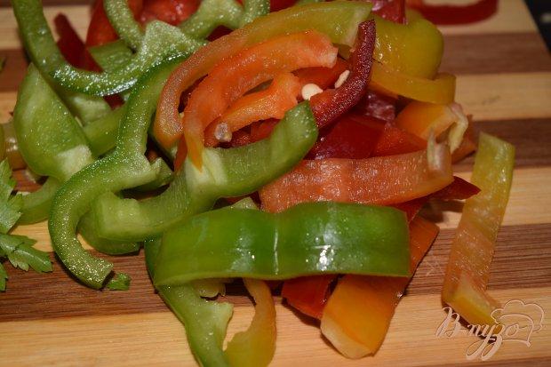 Рецепт Теплый салат с болгарским перцем