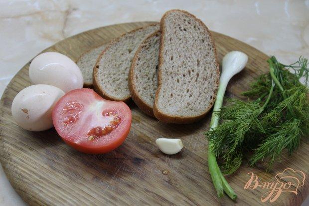 Рецепт Гренки с яйцом и помидором