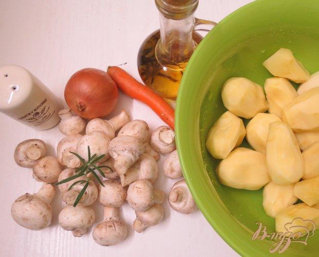 Рецепт Картофельная запеканка с шампиньонами