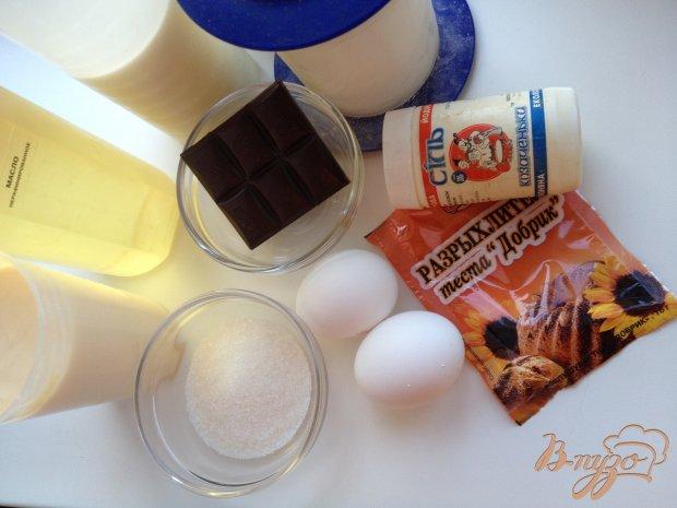 Рецепт Шоколадные блины на йогурте