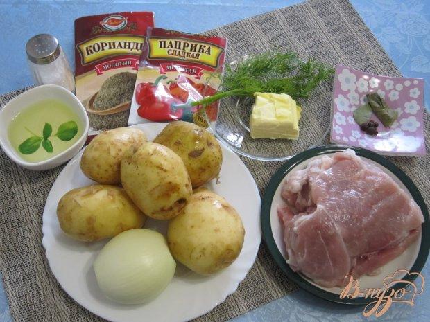 Рецепт Картофельный быстрый суп
