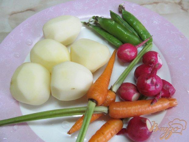 Рецепт Свинина тушенная в вине с овощами