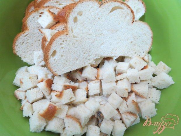 Рецепт Бабка из хлеба с ревенем