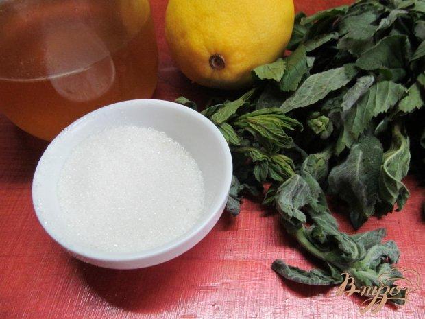 Рецепт Лимонный напиток с мятой