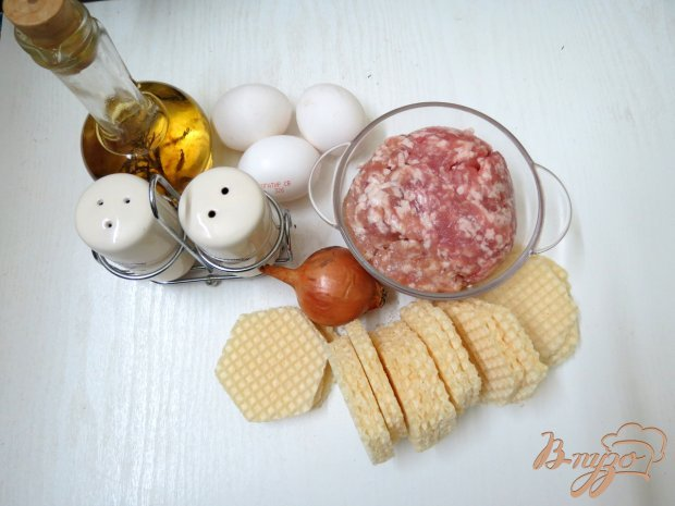 Рецепт Котлеты в вафлях