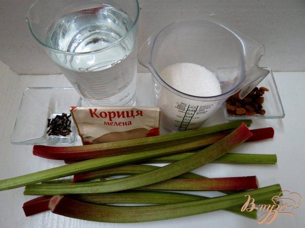 Рецепт Квас из ревеня