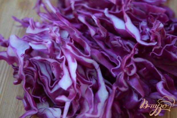 Рецепт Салат из краснокачанной капусты и дайкона